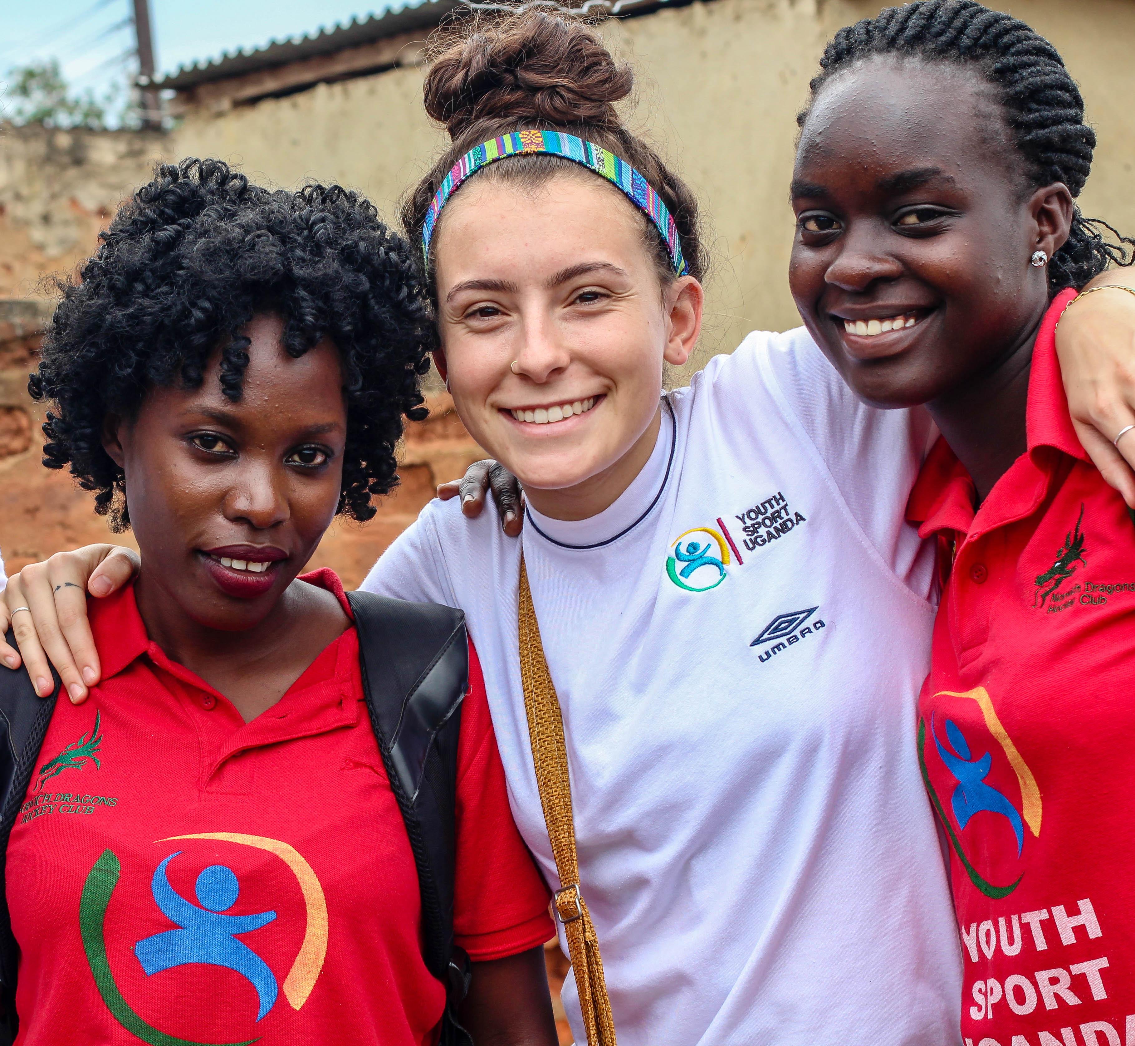 Notre Dame de Namur University graduate Arianna Cunha did a public health internship in Uganda